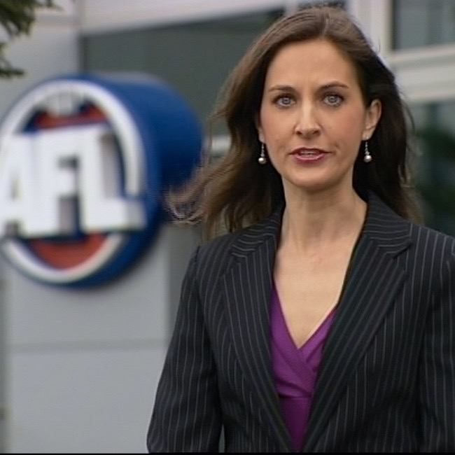 Reporting at AFL Headquarters - 7 Network